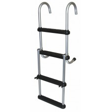 4 Step Removable Folding Pontoon Ladder