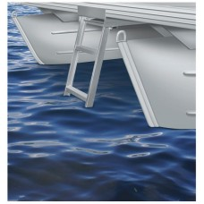 4 Step Under Deck Pontoon Ladder (Flat Front Pontoon Decks)
