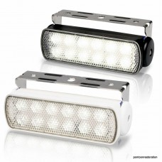 Premium LED White Deck Light with Spotlight Beam 240 lumens
