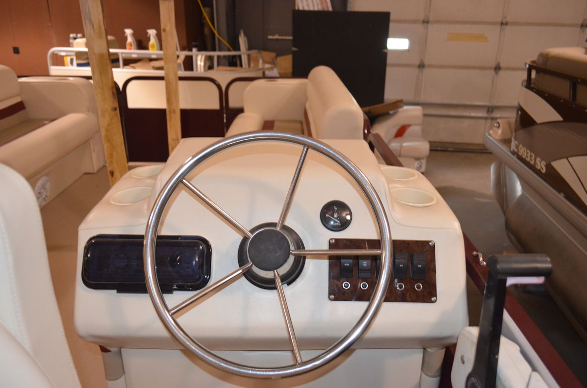 5 Switch Mahogany Fuse Panel Pontoon And Wiring Harness Wire Sold Separately
