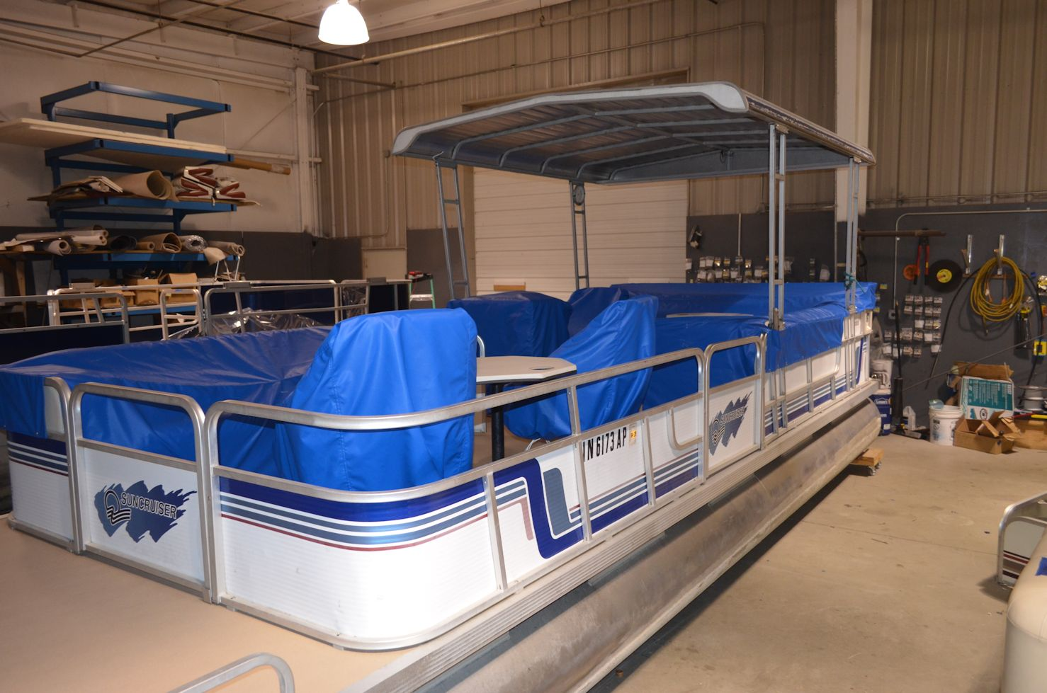 Pontoon Custom Fit Mooring Covers Individual Seat Covers