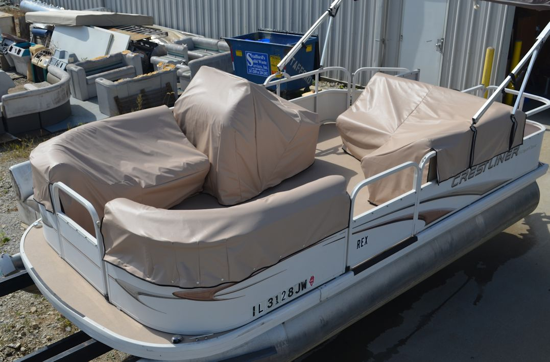 PONTOON CUSTOM FIT MOORING COVERS & INDIVIDUAL SEAT COVERS