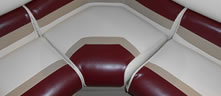PONTOON BOAT SEAT UPHOLSTERY